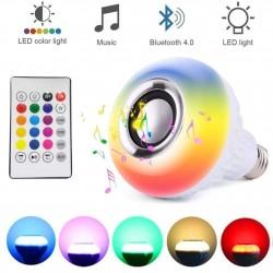 LAMPE LED RGB MP3