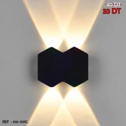 APPLIQUE LED GRIS 100-159